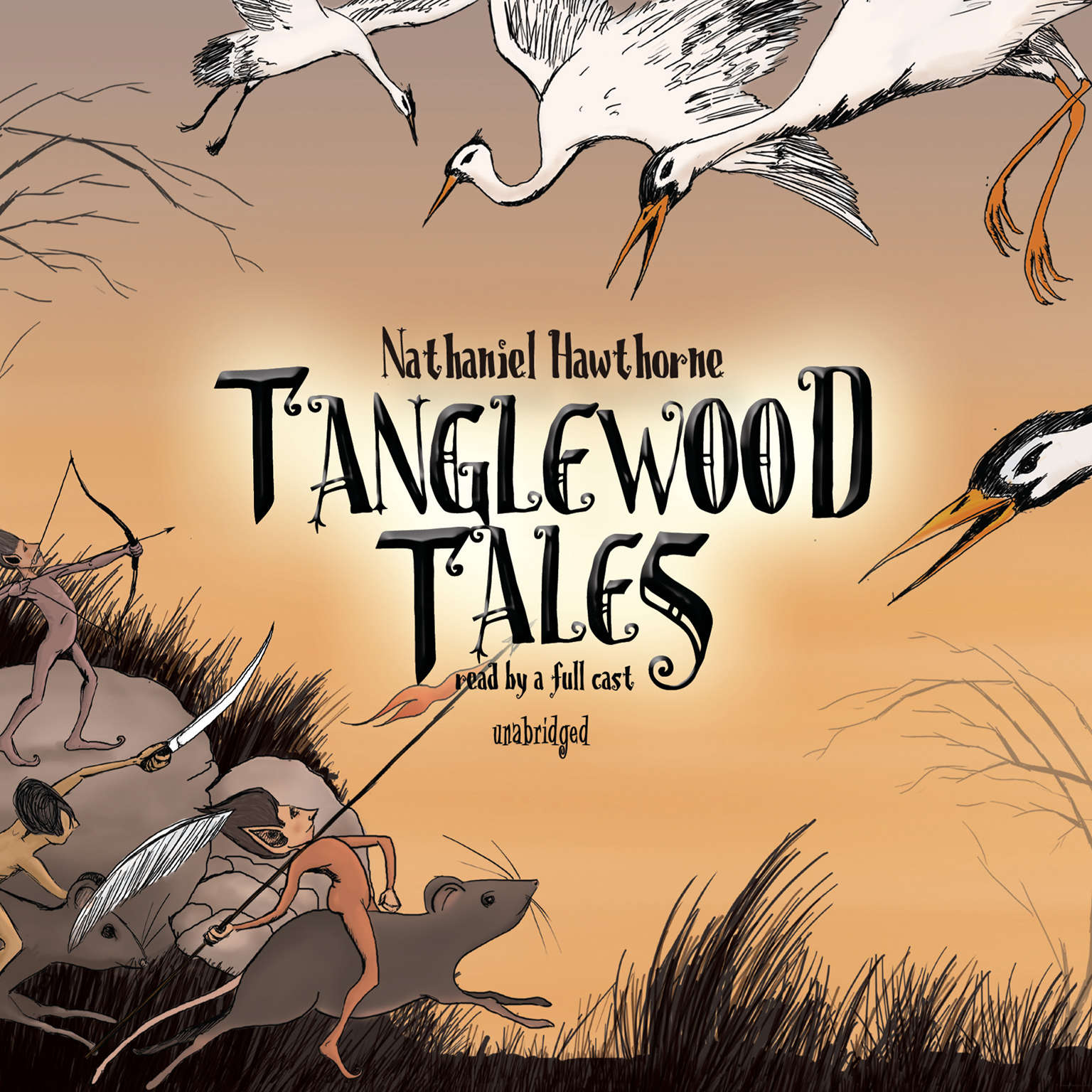 Printable Tanglewood Tales Audiobook Cover Art