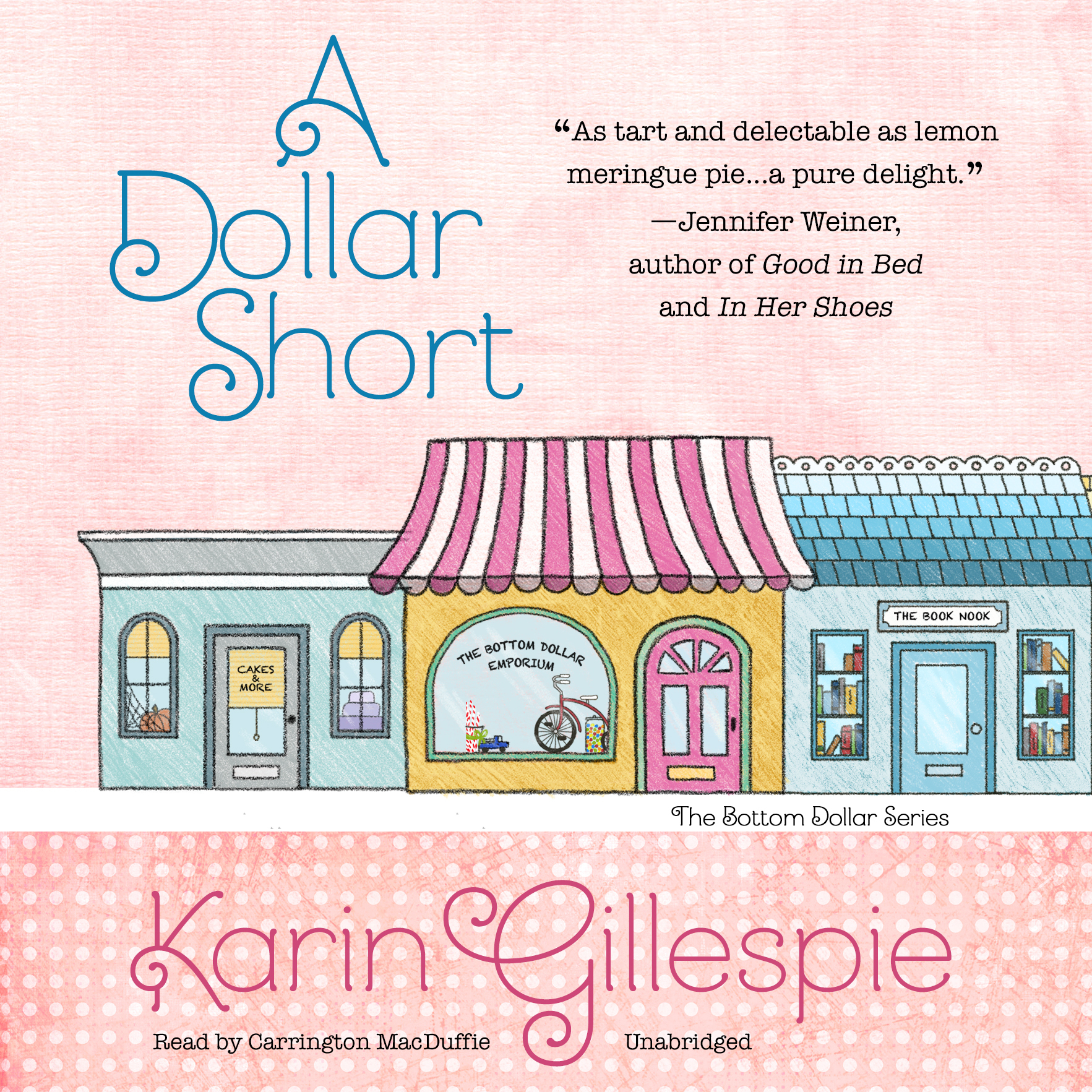 Printable A Dollar Short: The Bottom Dollar Girls Go Hollywood Audiobook Cover Art