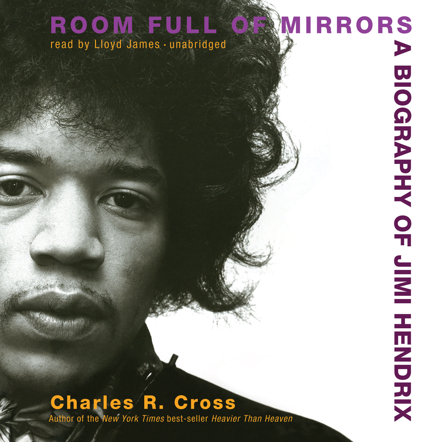 Printable Room Full of Mirrors: A Biography of Jimi Hendrix Audiobook Cover Art