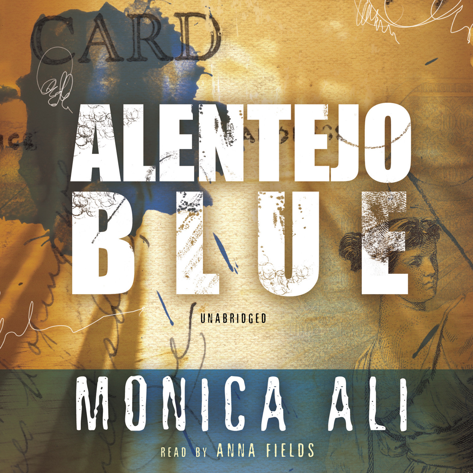 Printable Alentejo Blue Audiobook Cover Art