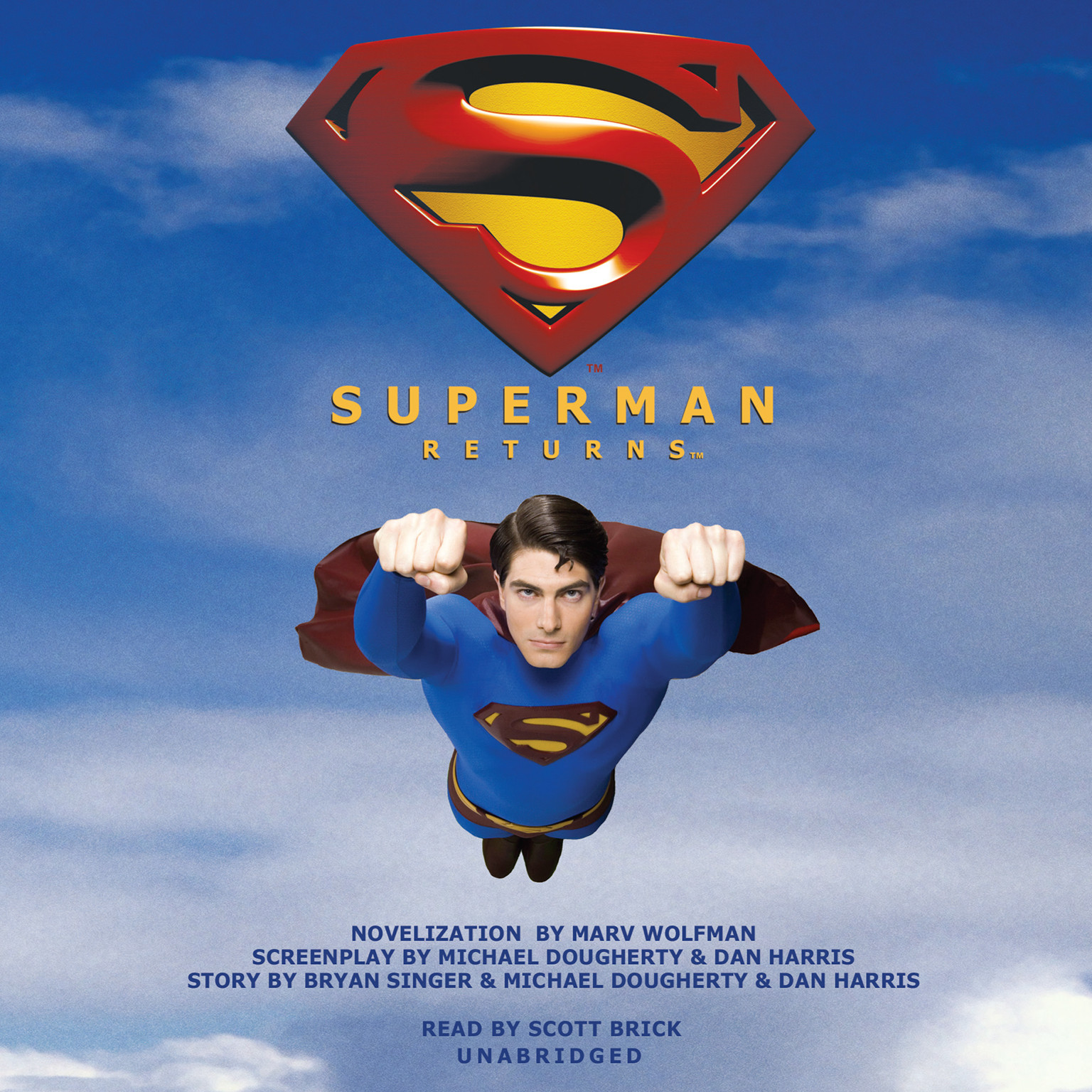 Printable Superman Returns Audiobook Cover Art