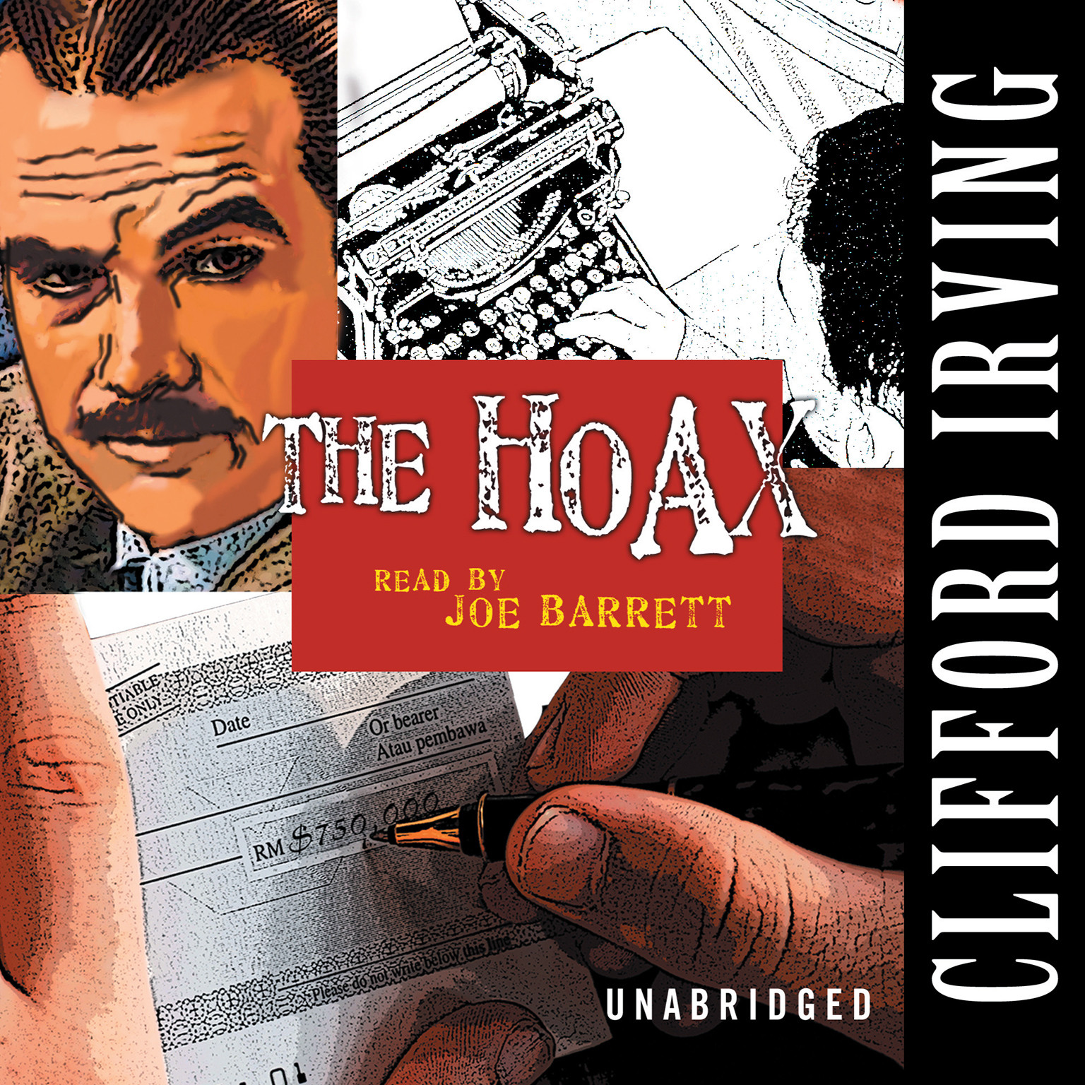 Printable The Hoax Audiobook Cover Art