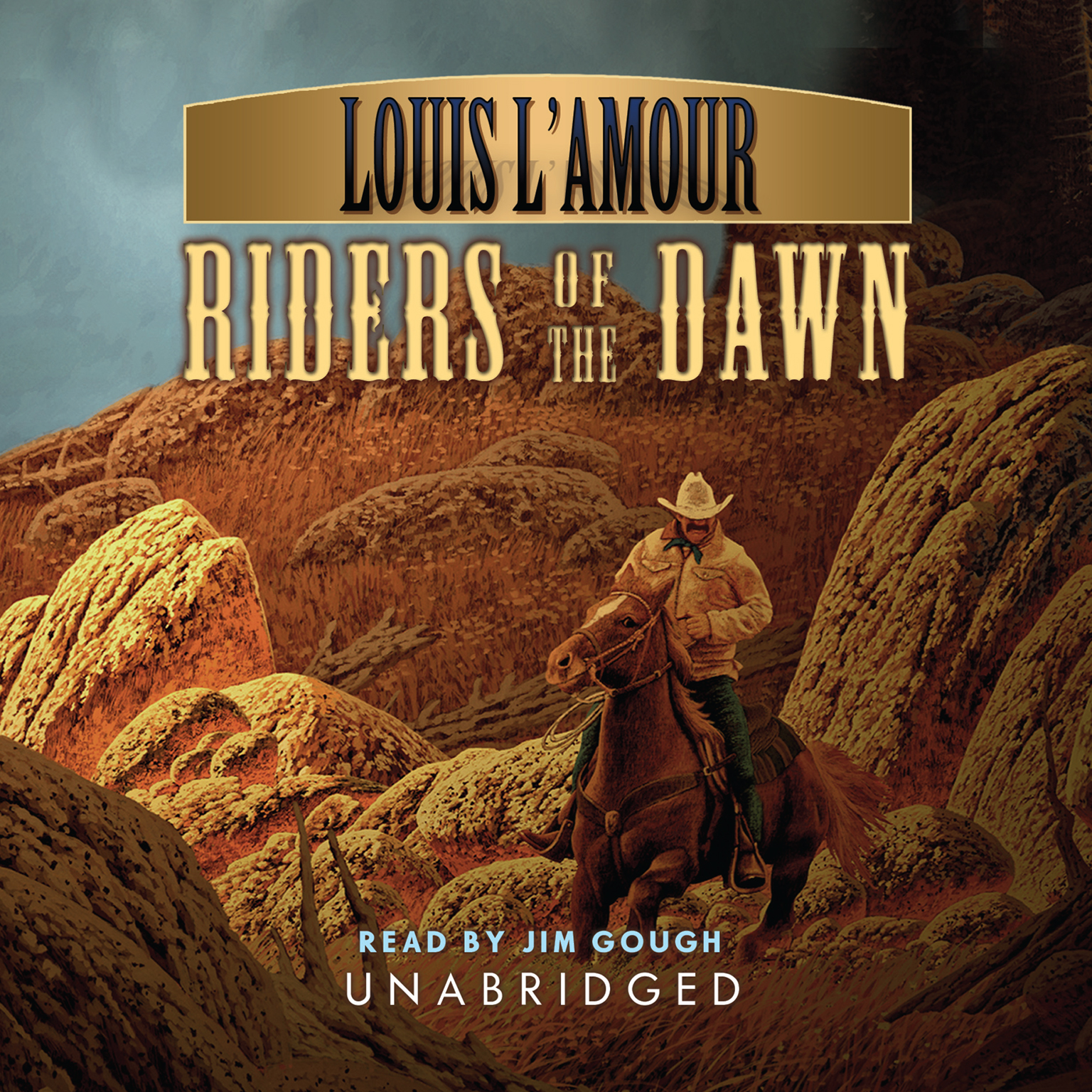 Printable Riders of the Dawn Audiobook Cover Art