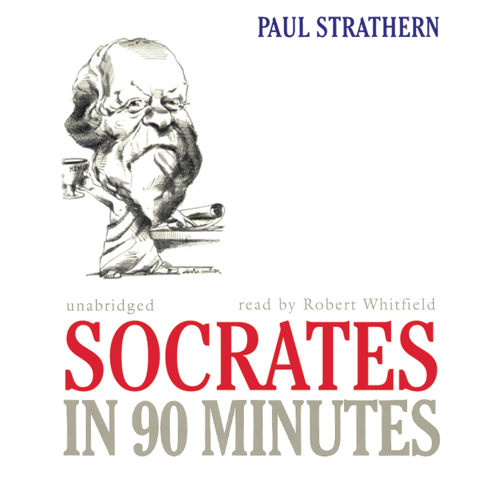 Printable Socrates in 90 Minutes Audiobook Cover Art
