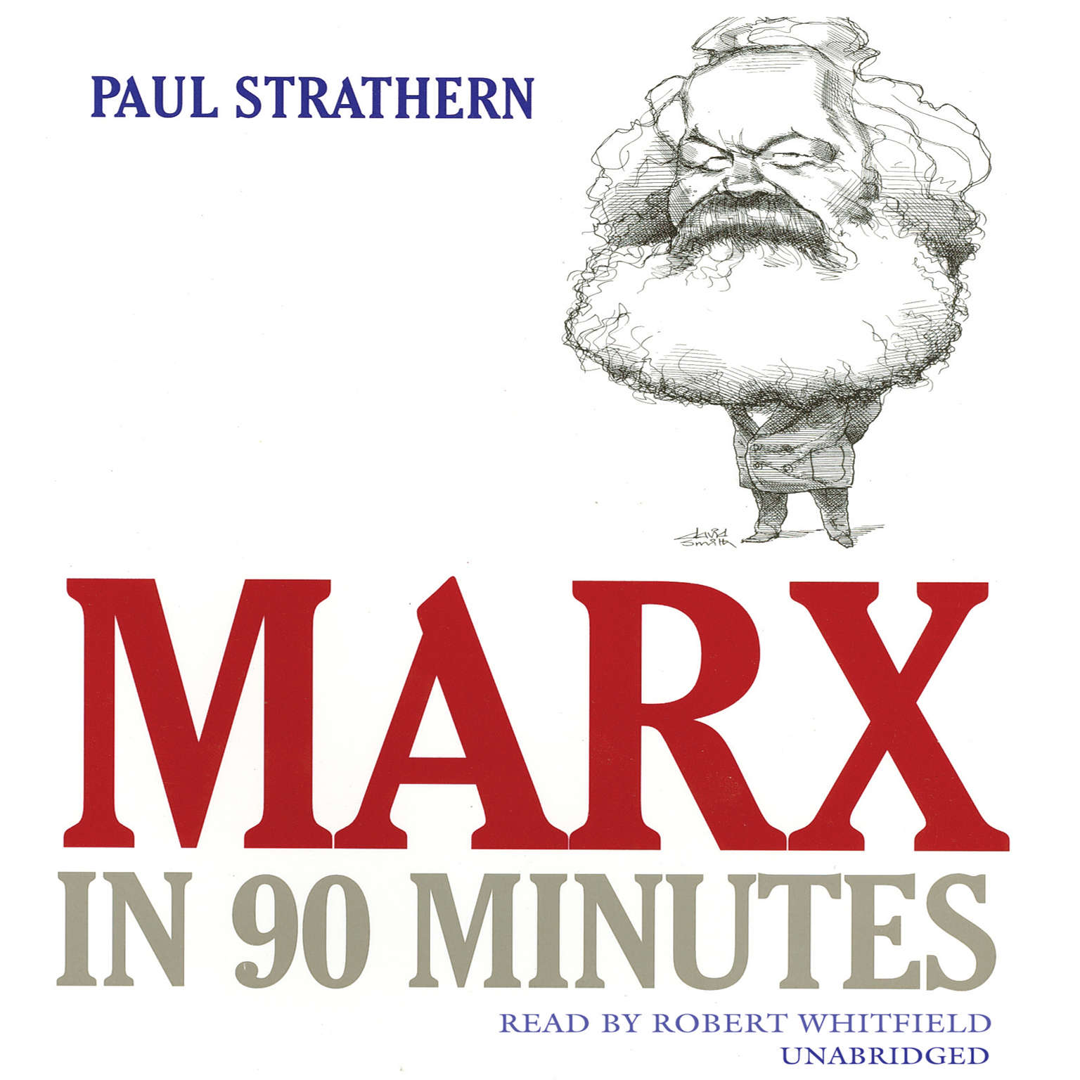 Printable Marx in 90 Minutes Audiobook Cover Art