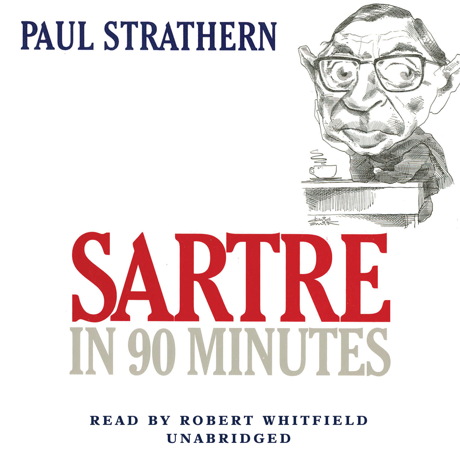 Printable Sartre in 90 Minutes Audiobook Cover Art