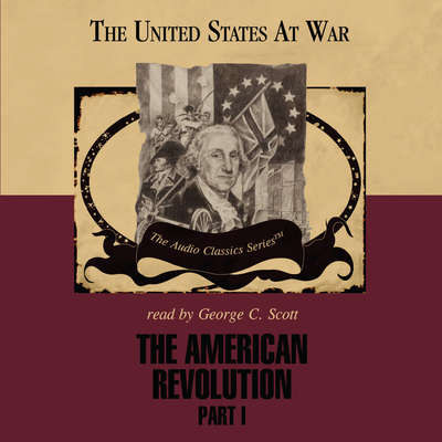 Printable The American Revolution, Part 1 Audiobook Cover Art