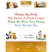 Winnie-the-Pooh Boxed Set: Winnie-The-Pooh; The House At Pooh Corner; When We Were Very Young; Now We Are Six  Audiobook, by A. A. Milne|