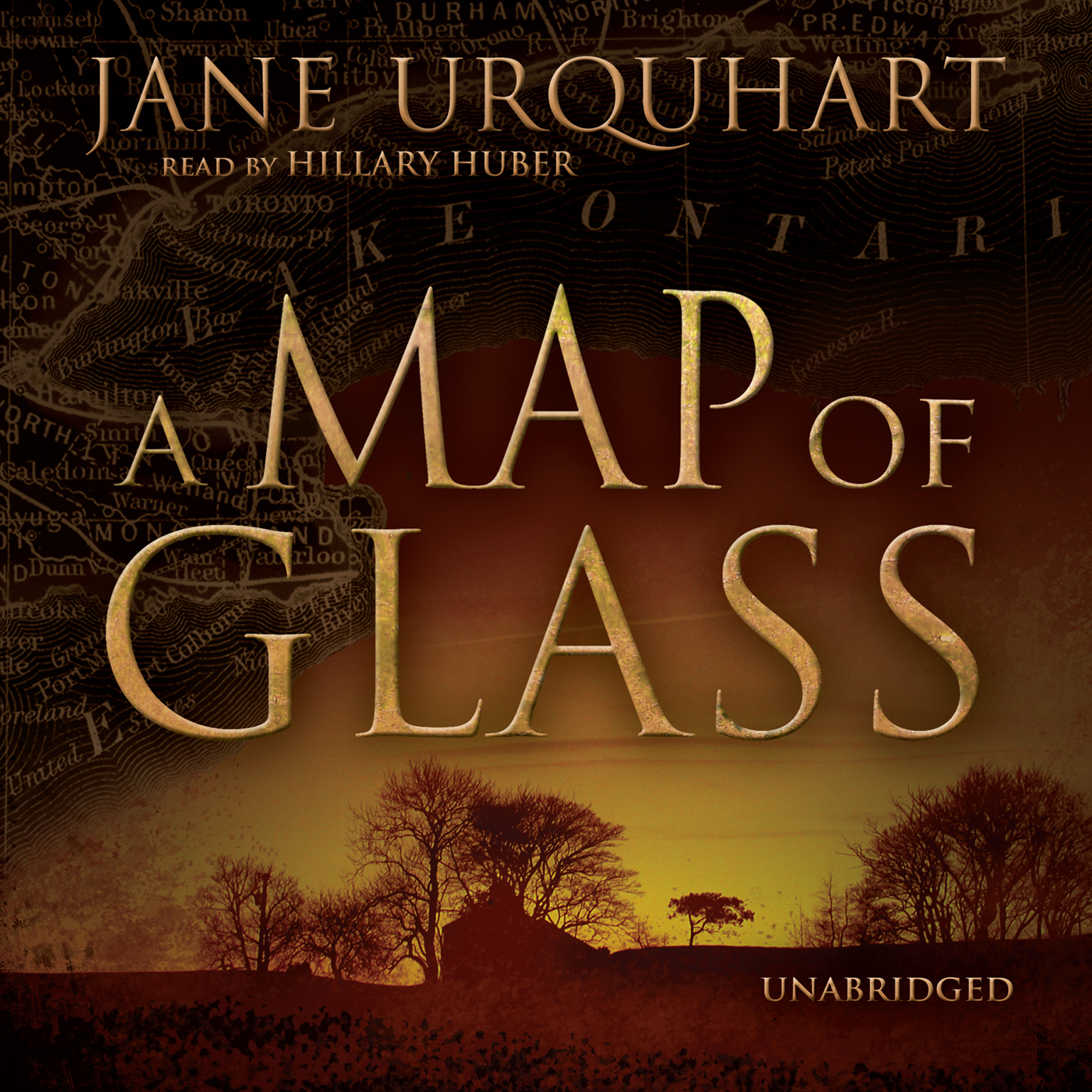 Printable A Map of Glass Audiobook Cover Art