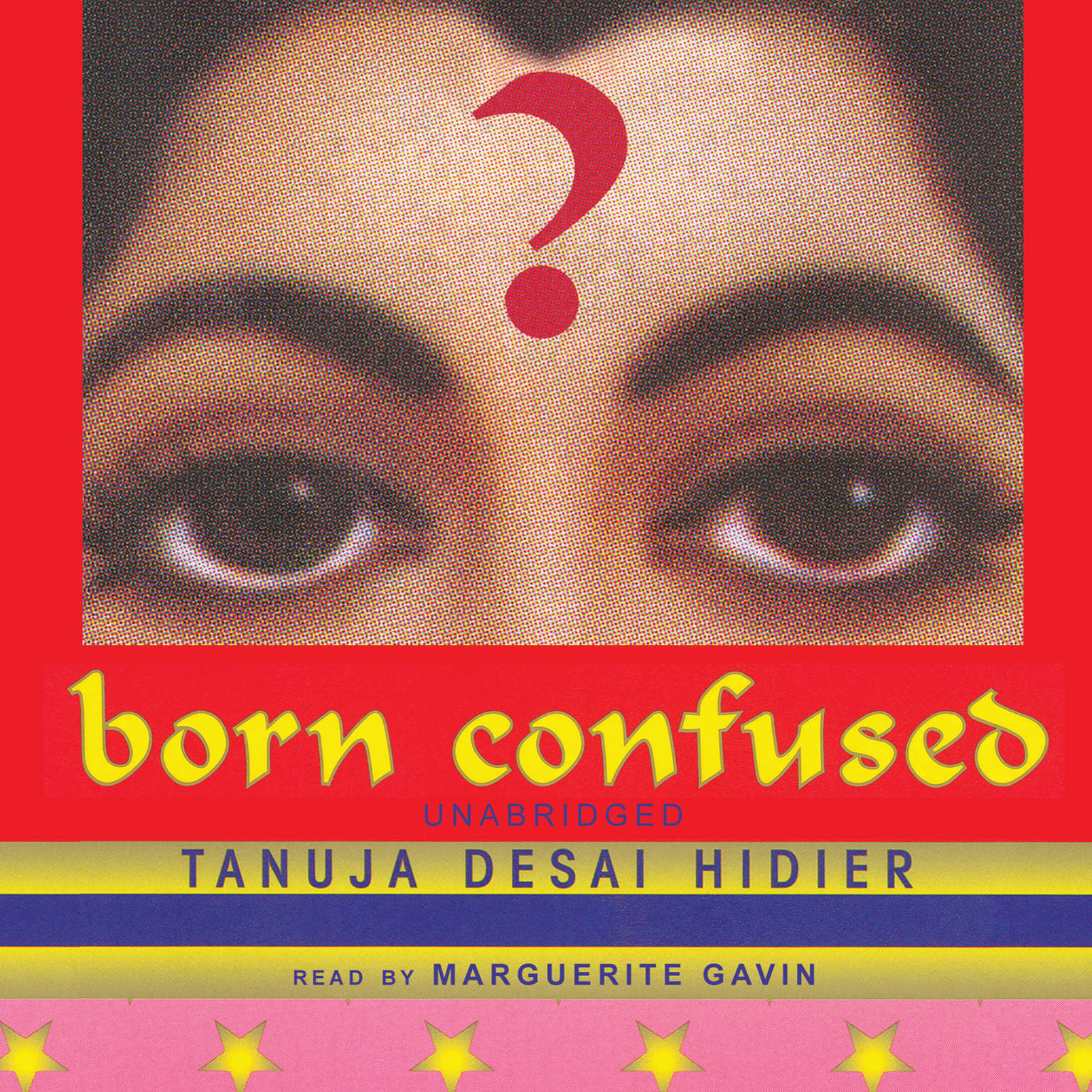 Printable Born Confused Audiobook Cover Art