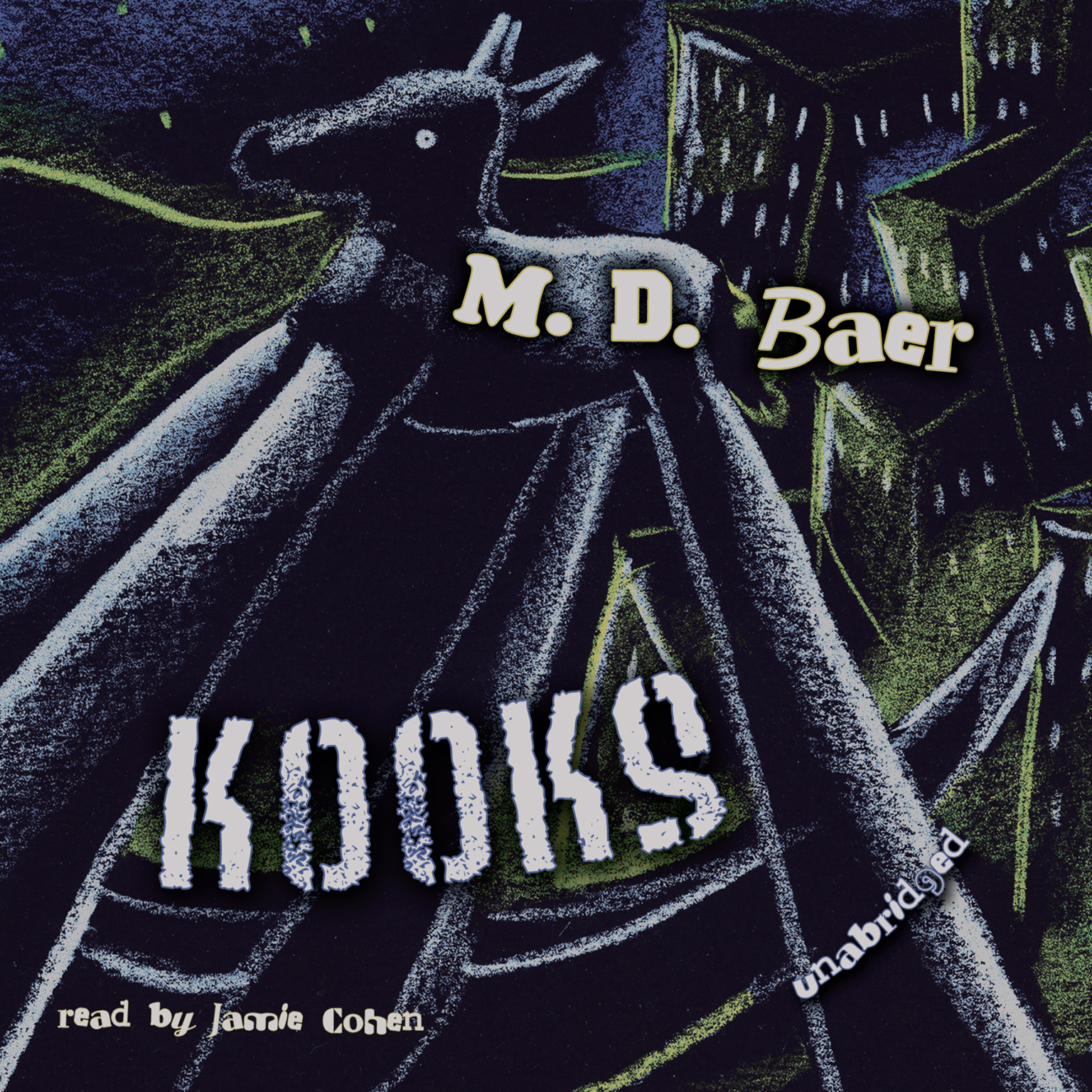 Printable Kooks Audiobook Cover Art