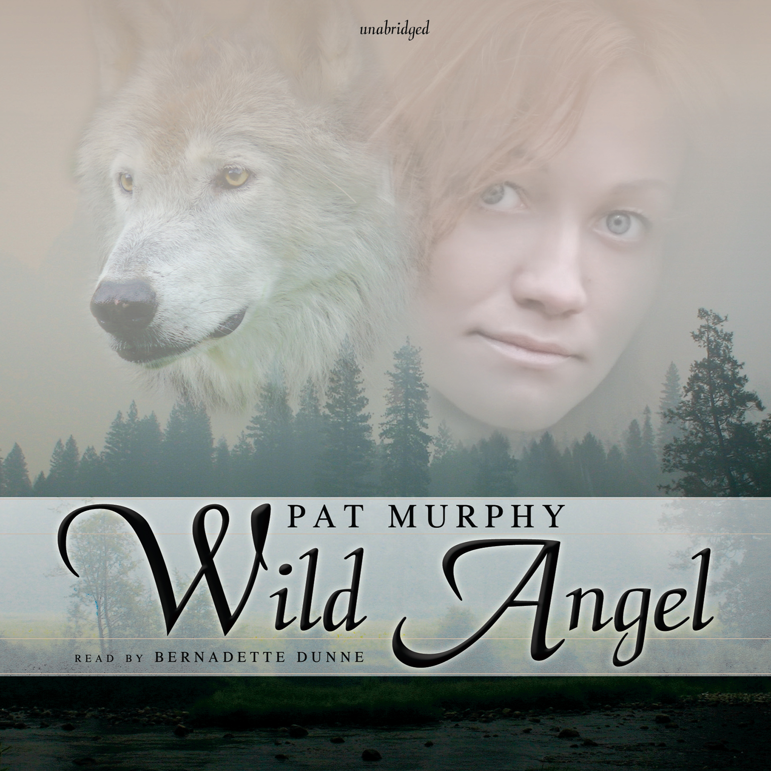 Printable Wild Angel Audiobook Cover Art