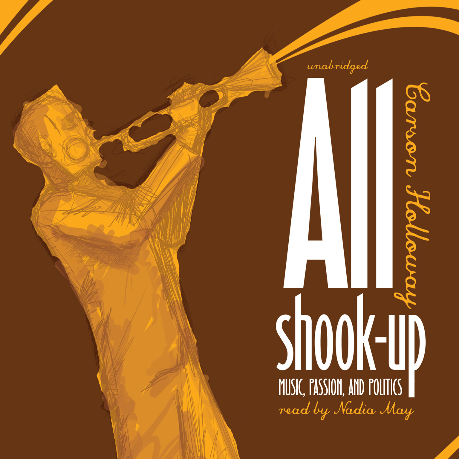 Printable All Shook Up: Music, Passion, and Politics Audiobook Cover Art