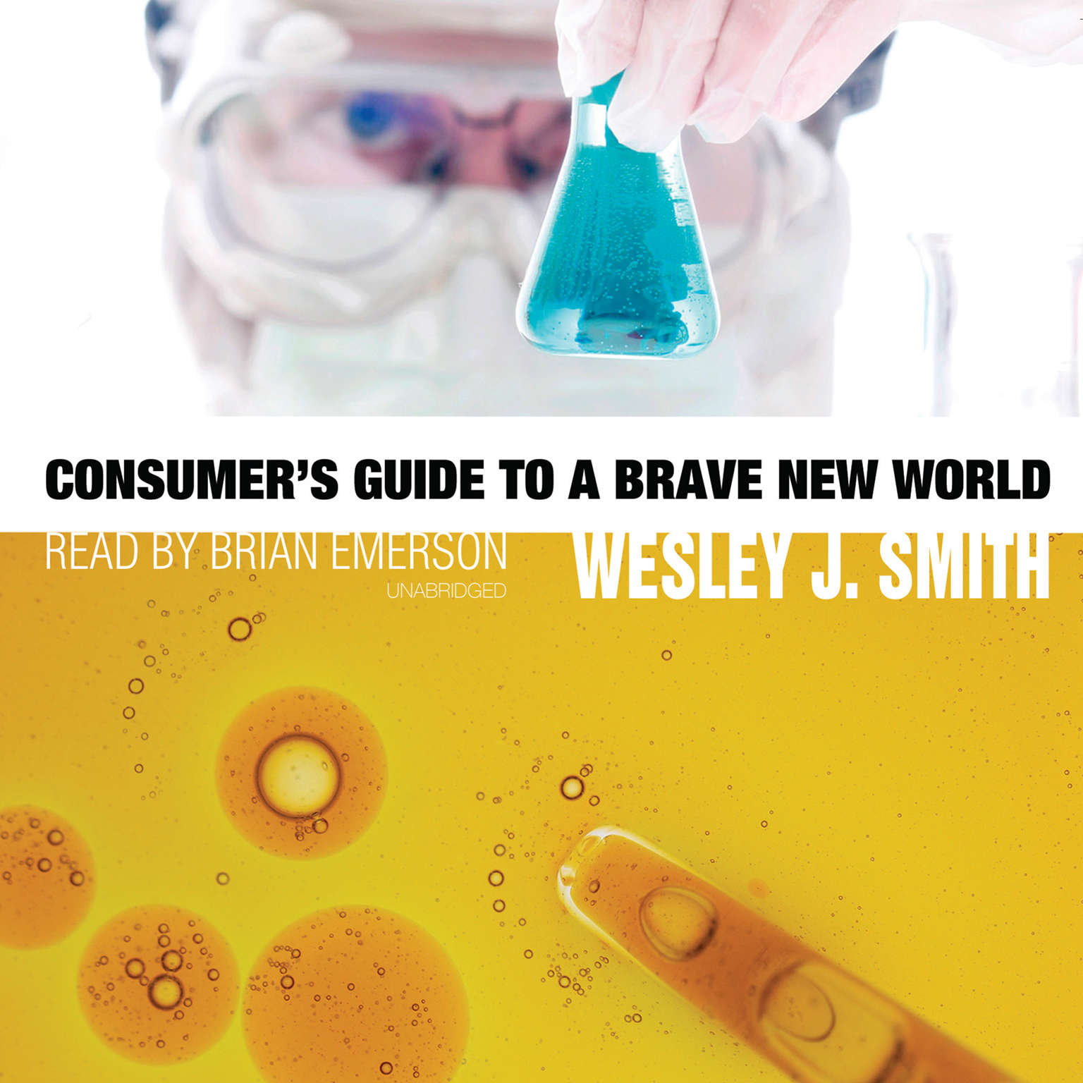 Printable Consumer's Guide to a Brave New World Audiobook Cover Art