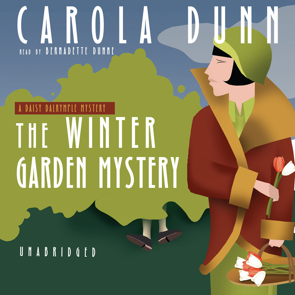 Printable The Winter Garden Mystery: A Daisy Dalrymple Mystery Audiobook Cover Art