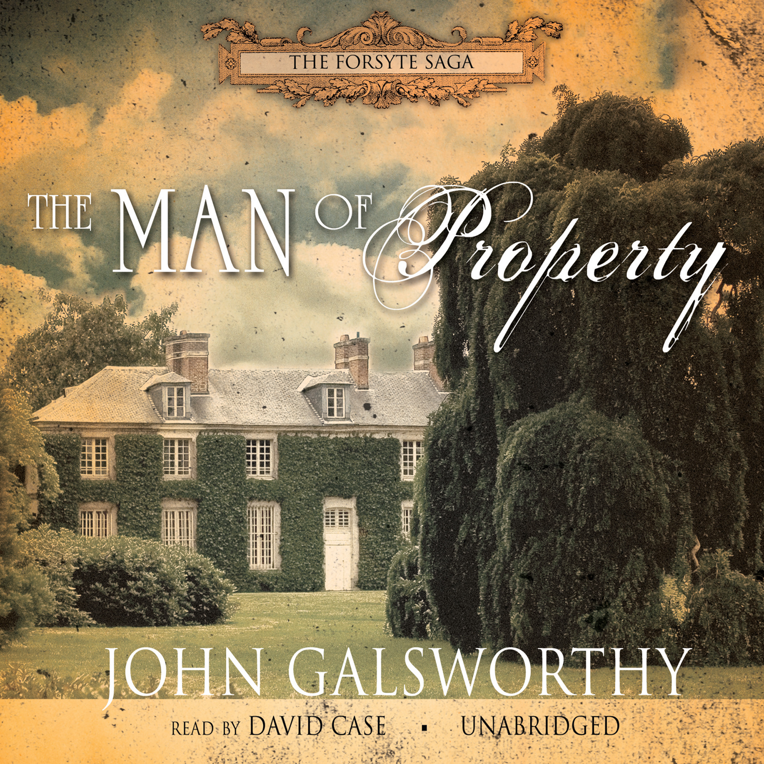 Printable The Man of Property Audiobook Cover Art