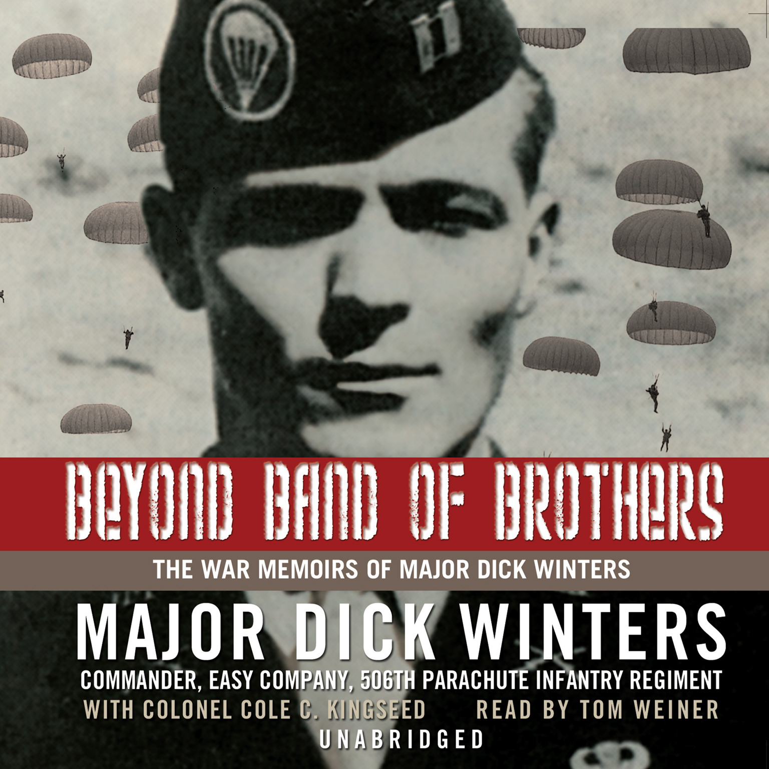 Printable Beyond Band of Brothers: The War Memoirs of Major Dick Winters Audiobook Cover Art