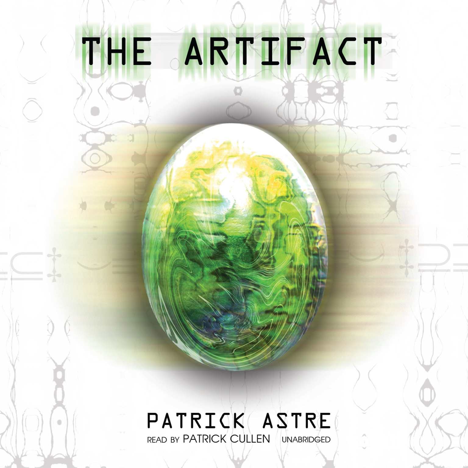 Printable The Artifact Audiobook Cover Art
