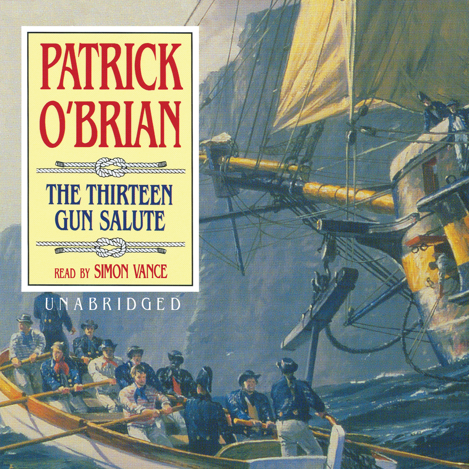 Printable The Thirteen Gun Salute Audiobook Cover Art