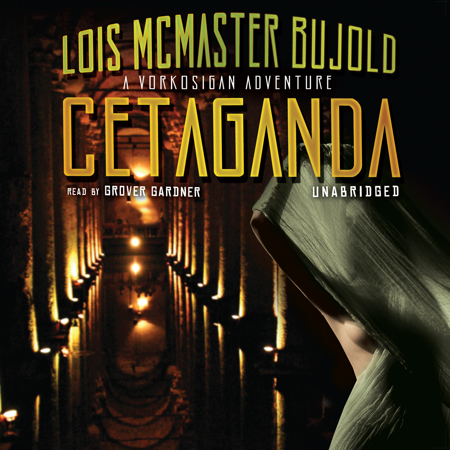 Printable Cetaganda Audiobook Cover Art