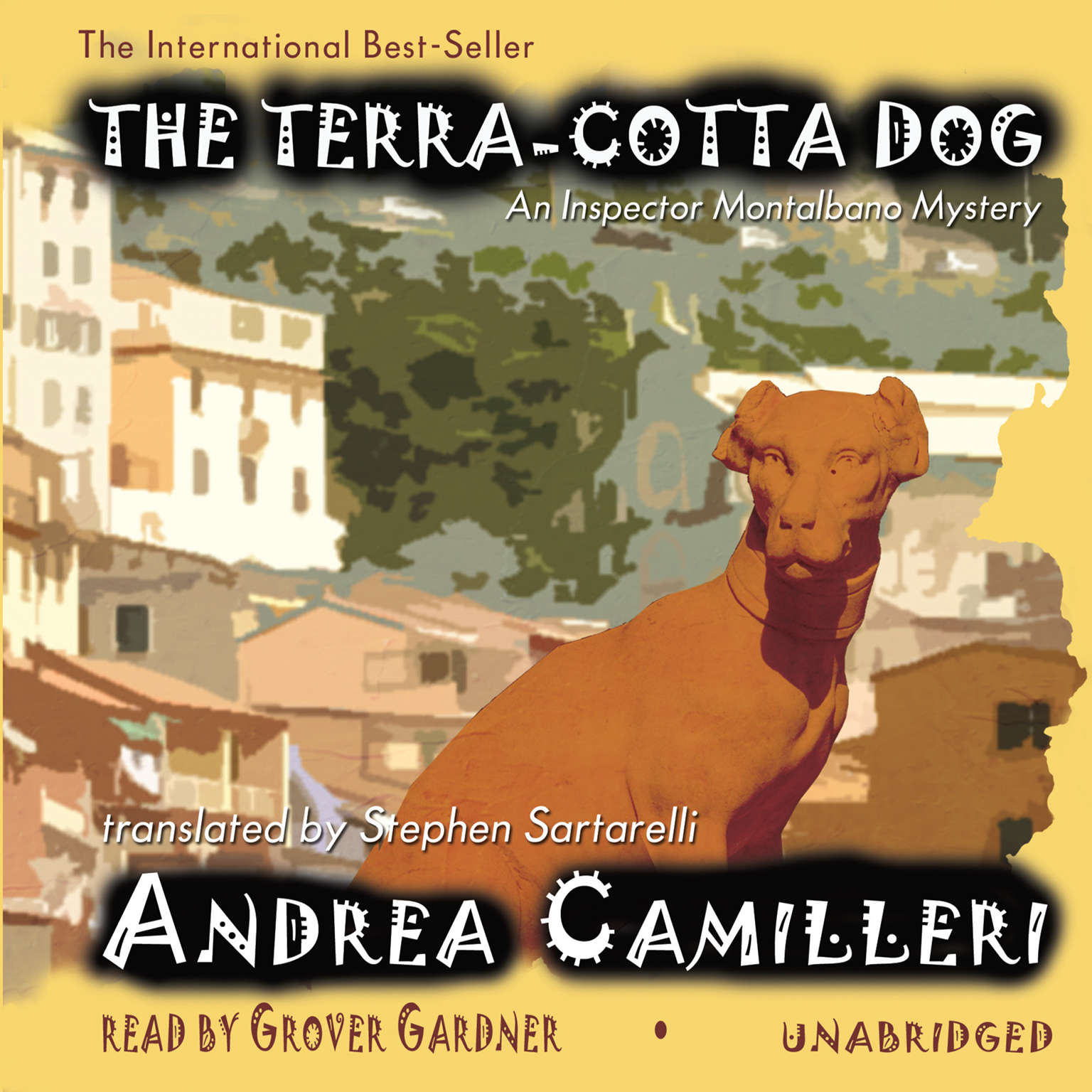 Printable The Terra-Cotta Dog: An Inspector Montalbano Mystery Audiobook Cover Art