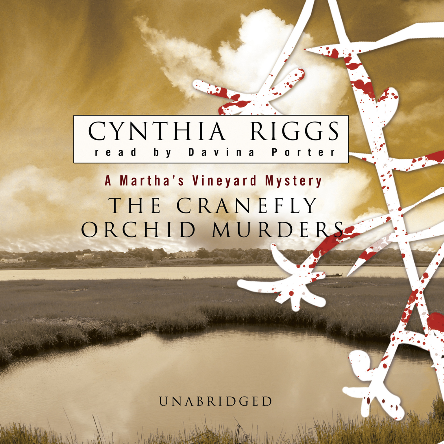 Printable The Cranefly Orchid Murders: A Martha's Vineyard Mystery Audiobook Cover Art