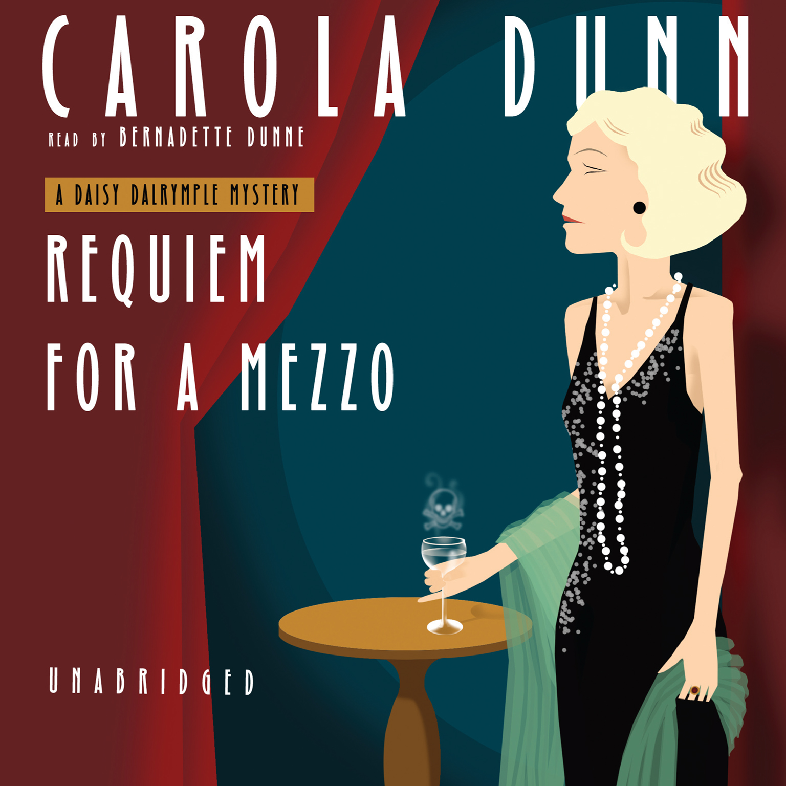 Printable Requiem for a Mezzo Audiobook Cover Art
