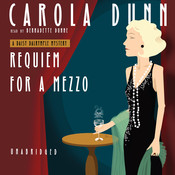 Requiem for a Mezzo Audiobook, by Carola Dunn