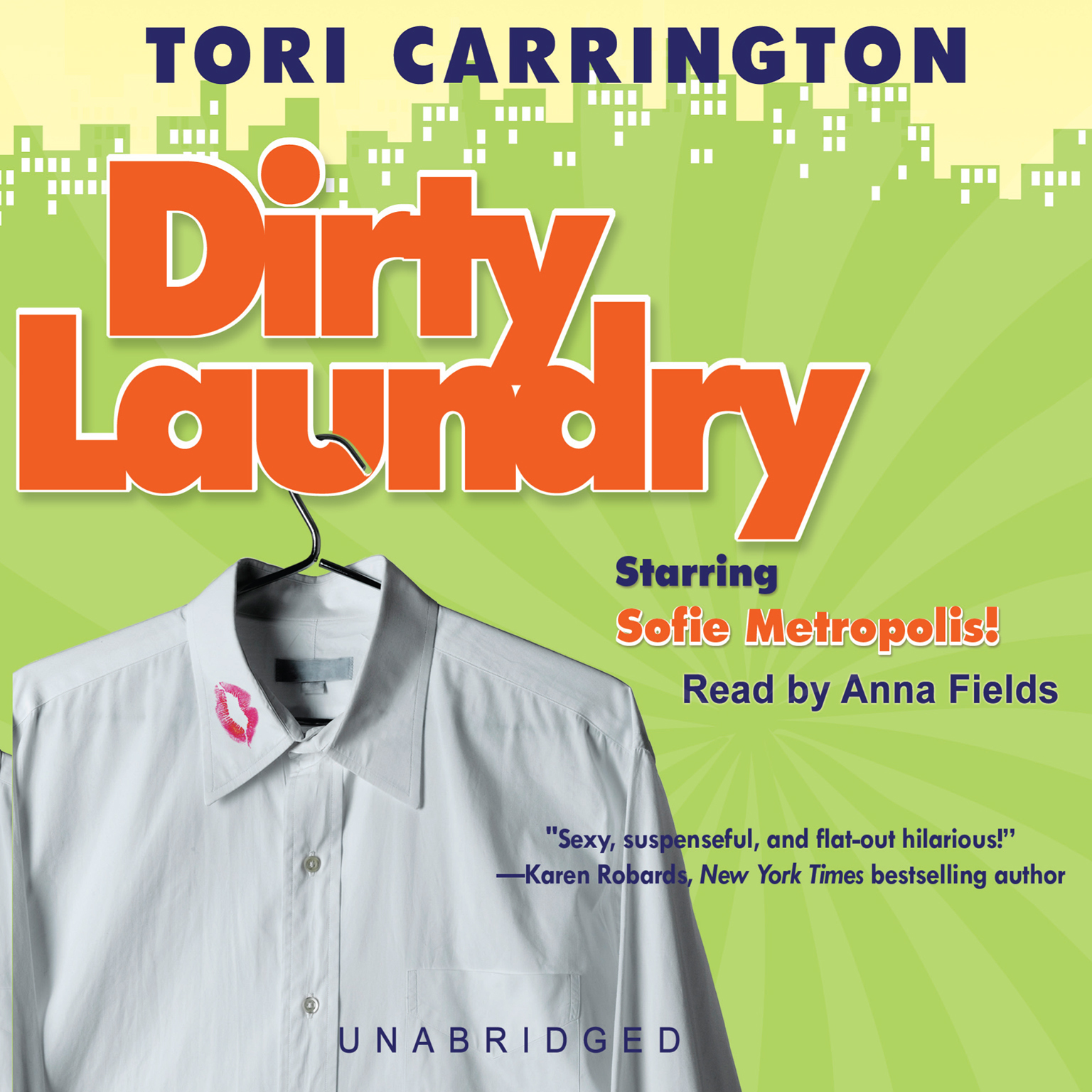 Printable Dirty Laundry: A Sofie Metropolis Novel Audiobook Cover Art