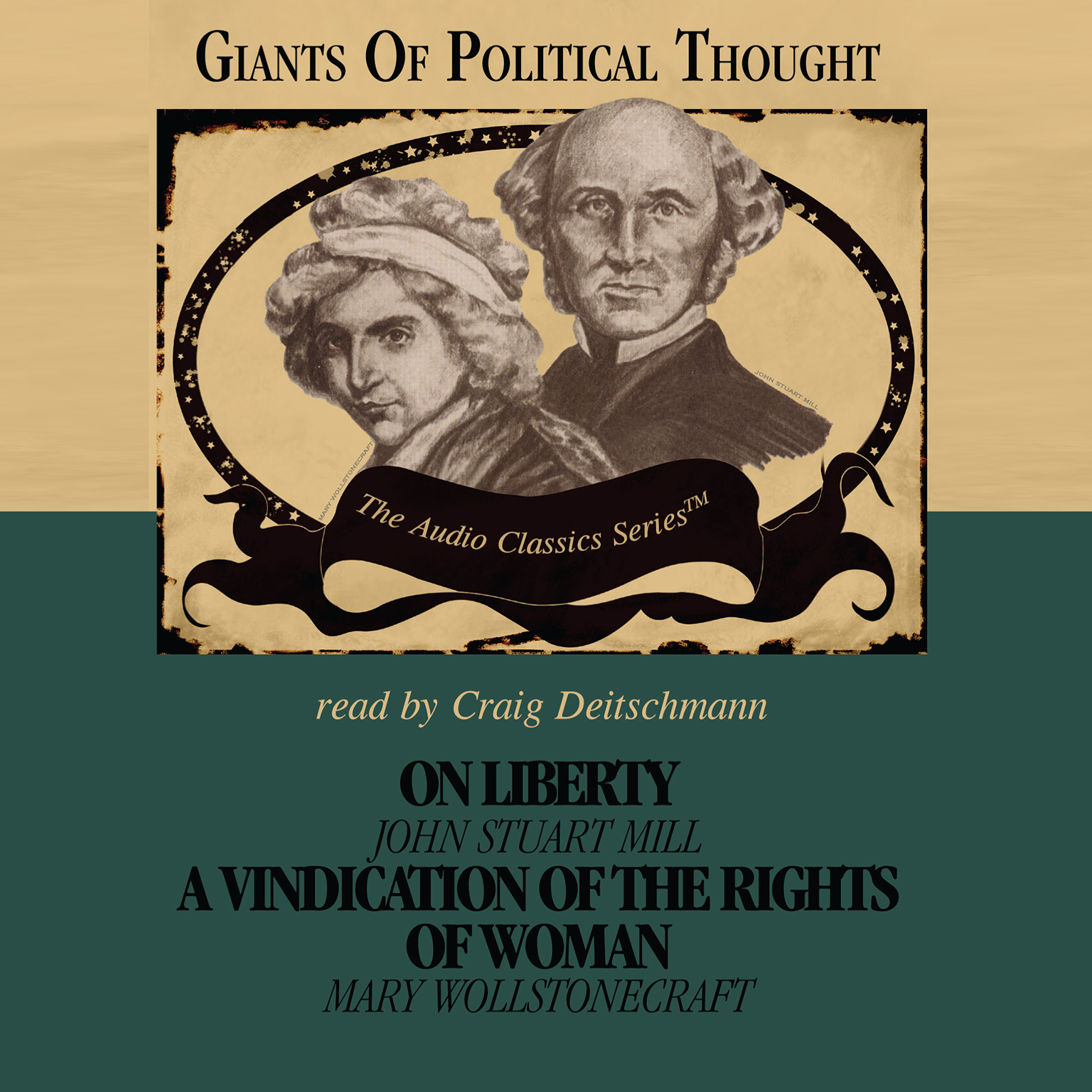 Printable On Liberty and A Vindication of the Rights of Woman Audiobook Cover Art