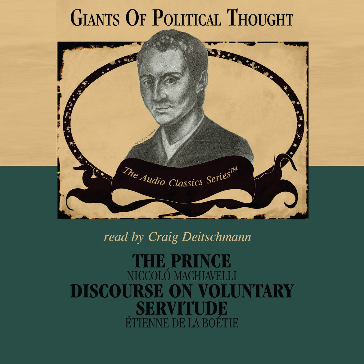 Printable The Prince & Discourse on Voluntary Servitude Audiobook Cover Art