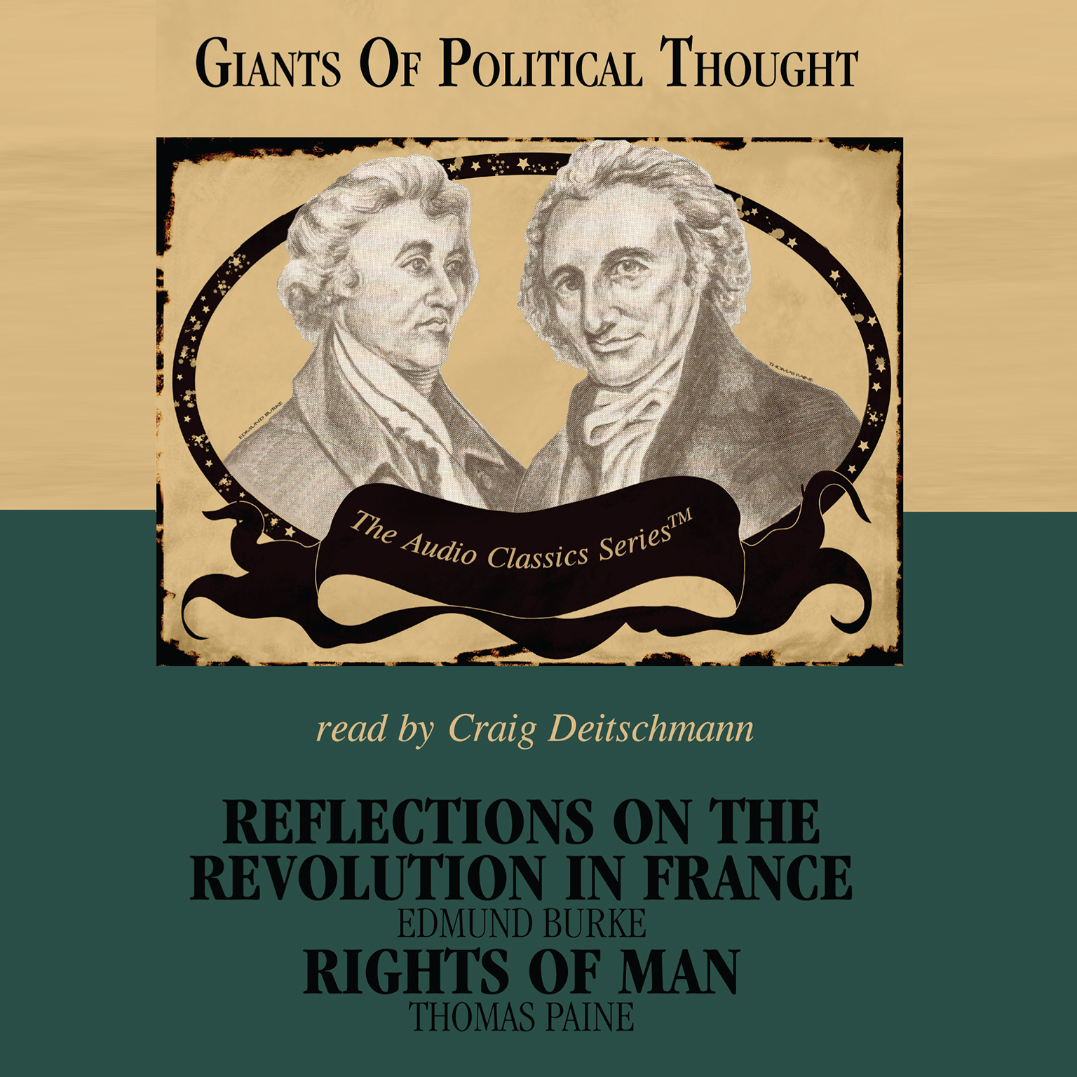 Printable Reflections on the Revolution in France and Rights of Man Audiobook Cover Art