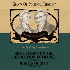 Reflections on the Revolution in France and Rights of Man Audiobook, by Wendy McElroy, George H. Smith
