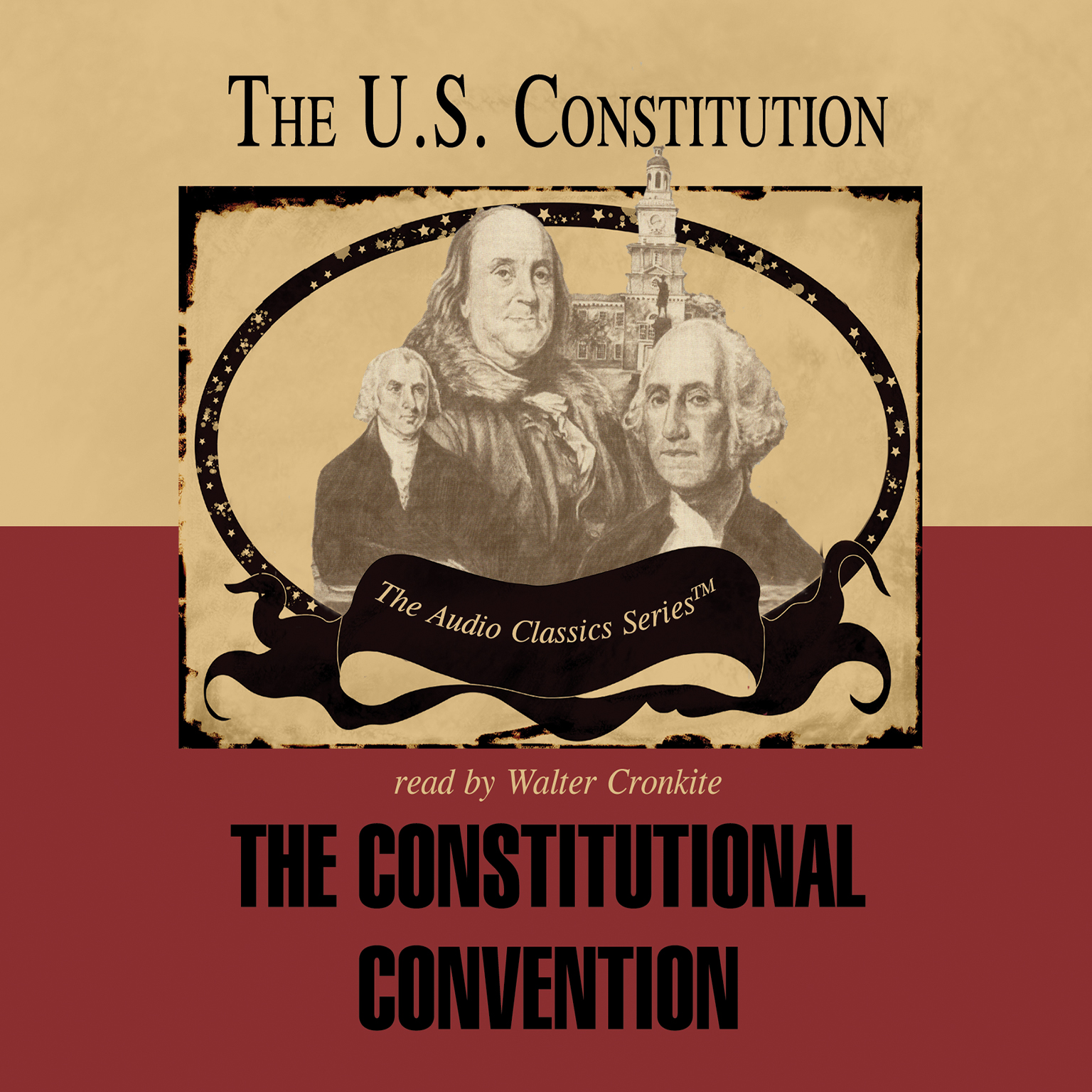 Printable The Constitutional Convention Audiobook Cover Art