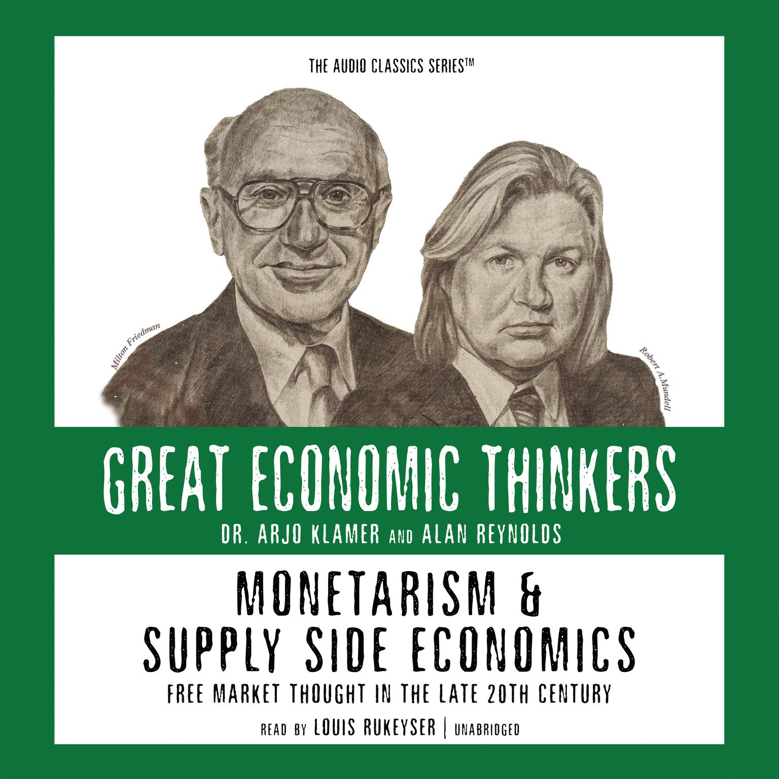 Printable Monetarism and Supply Side Economics: Free Market Thought in the 20th Century Audiobook Cover Art