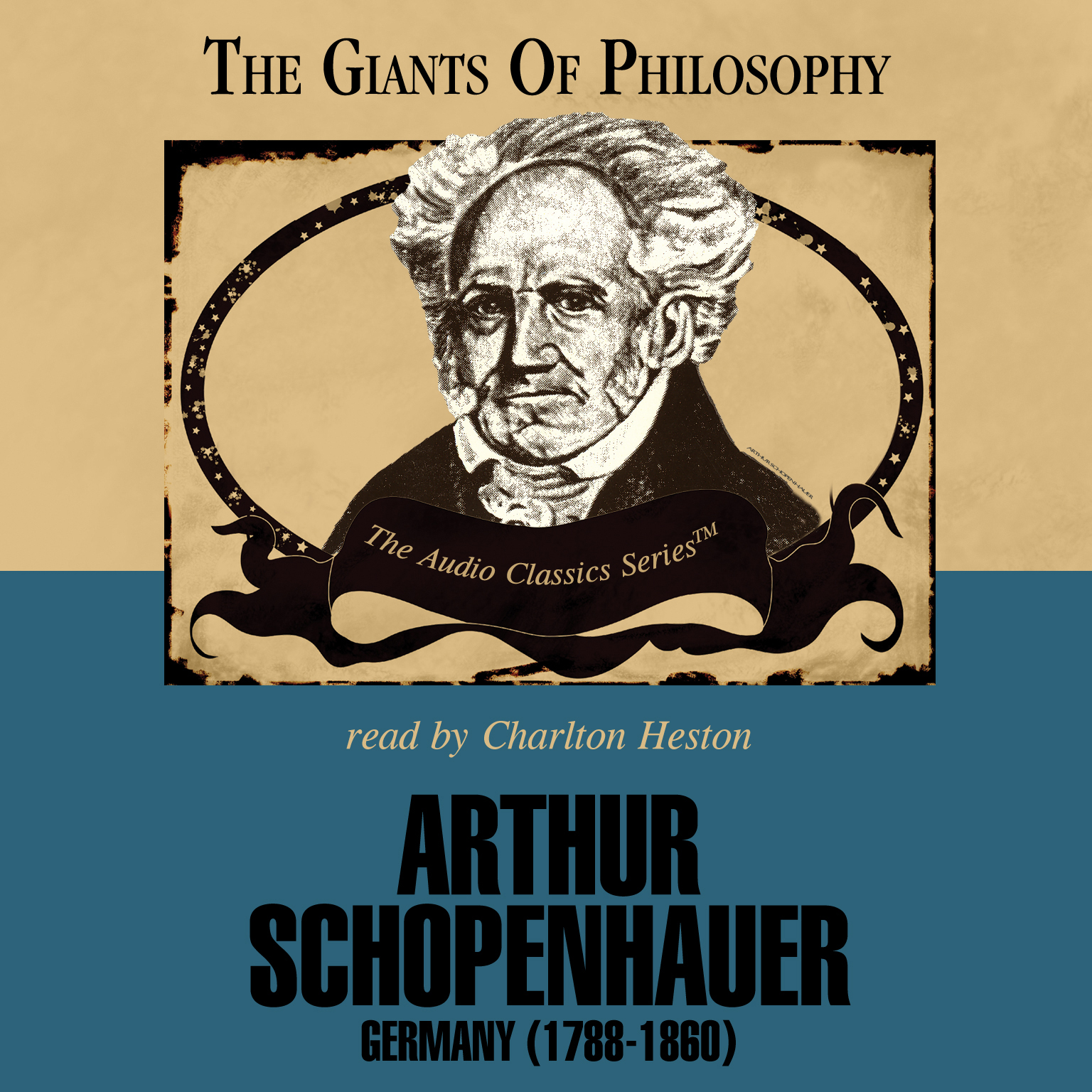 Printable Arthur Schopenhauer: Germany 1788–1860 Audiobook Cover Art