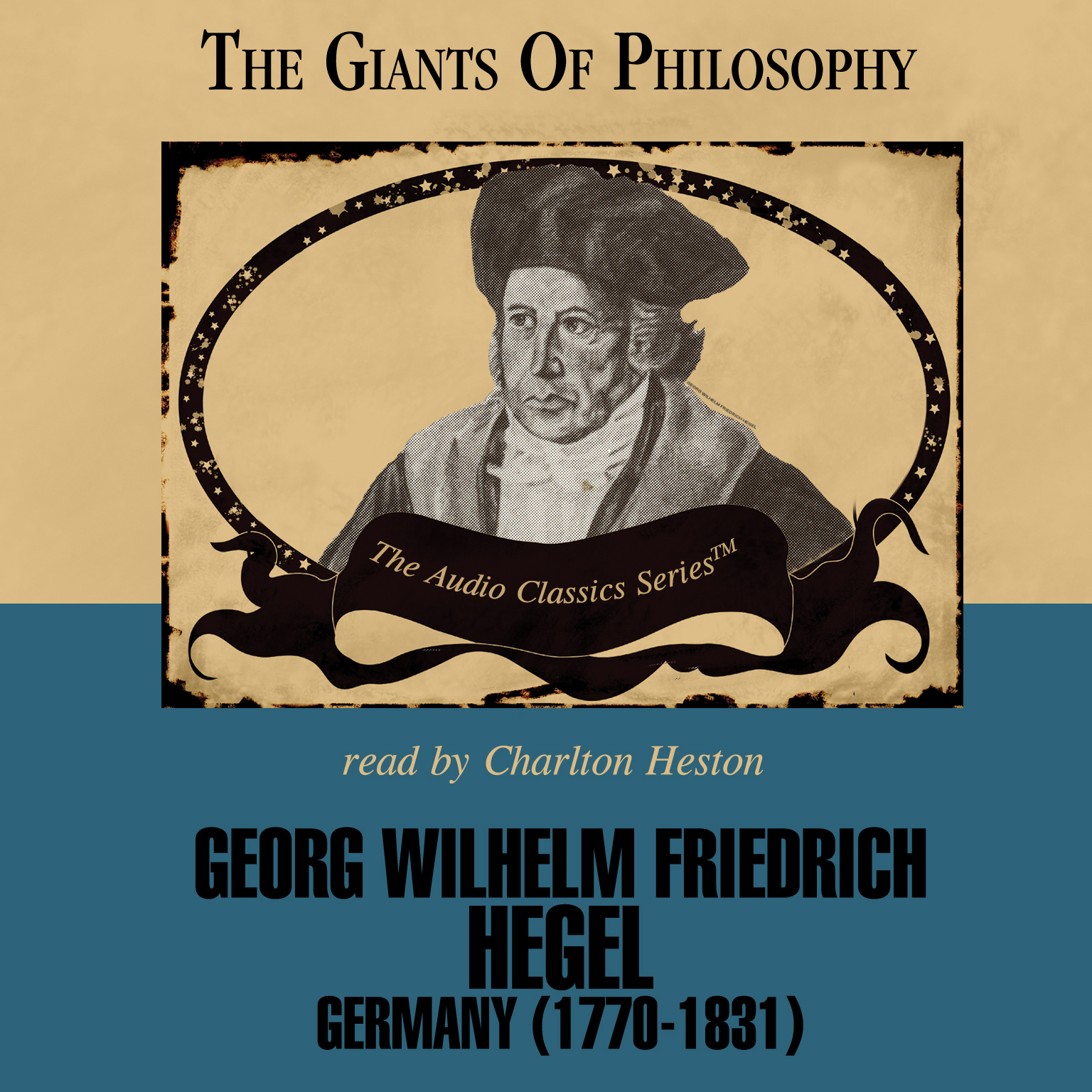 Printable Georg Wilhelm Friedrich Hegel Audiobook Cover Art