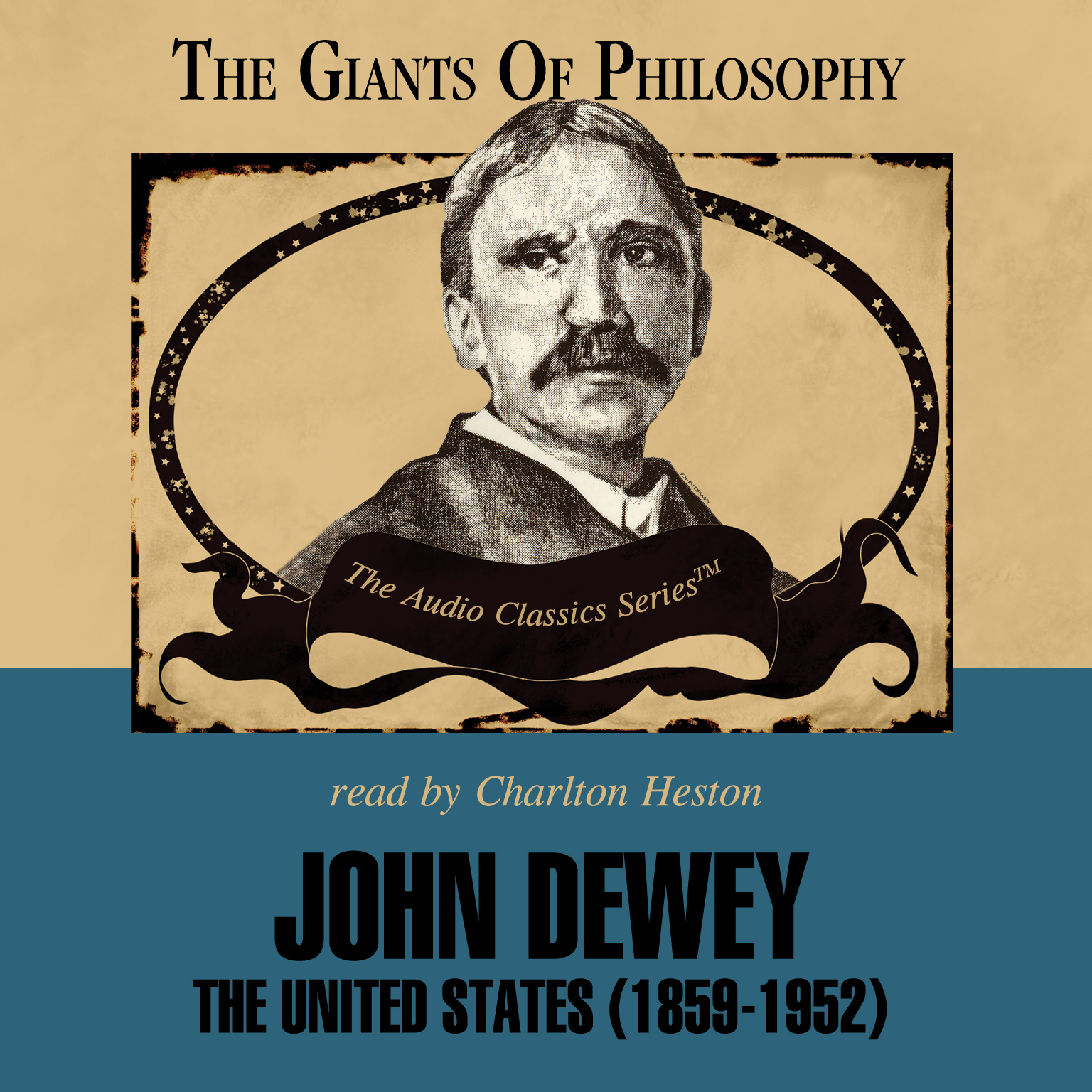 Printable John Dewey: The United States (1859–1952) Audiobook Cover Art