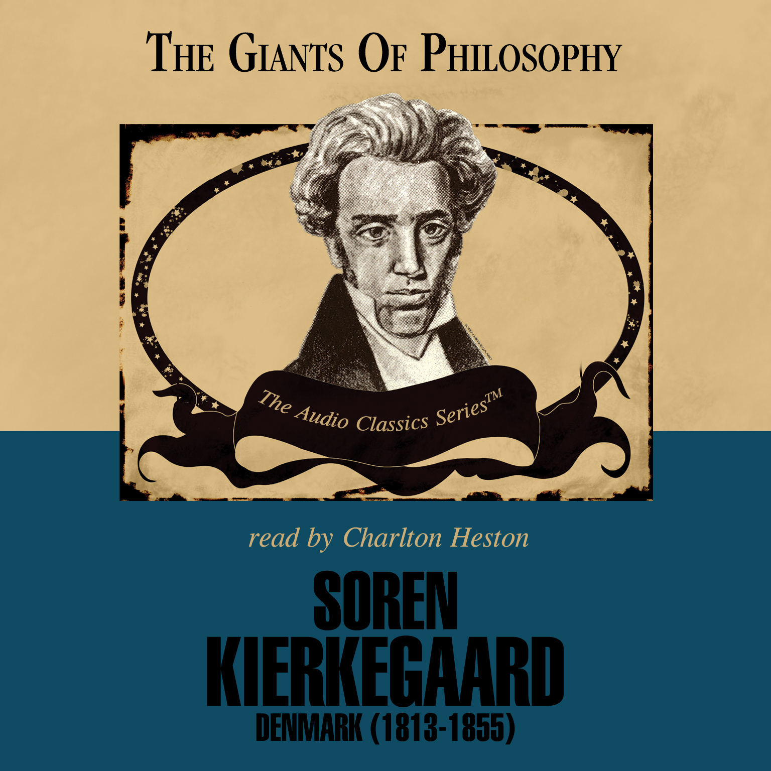 Printable Søren Kierkegaard: Denmark (1813–1855) Audiobook Cover Art
