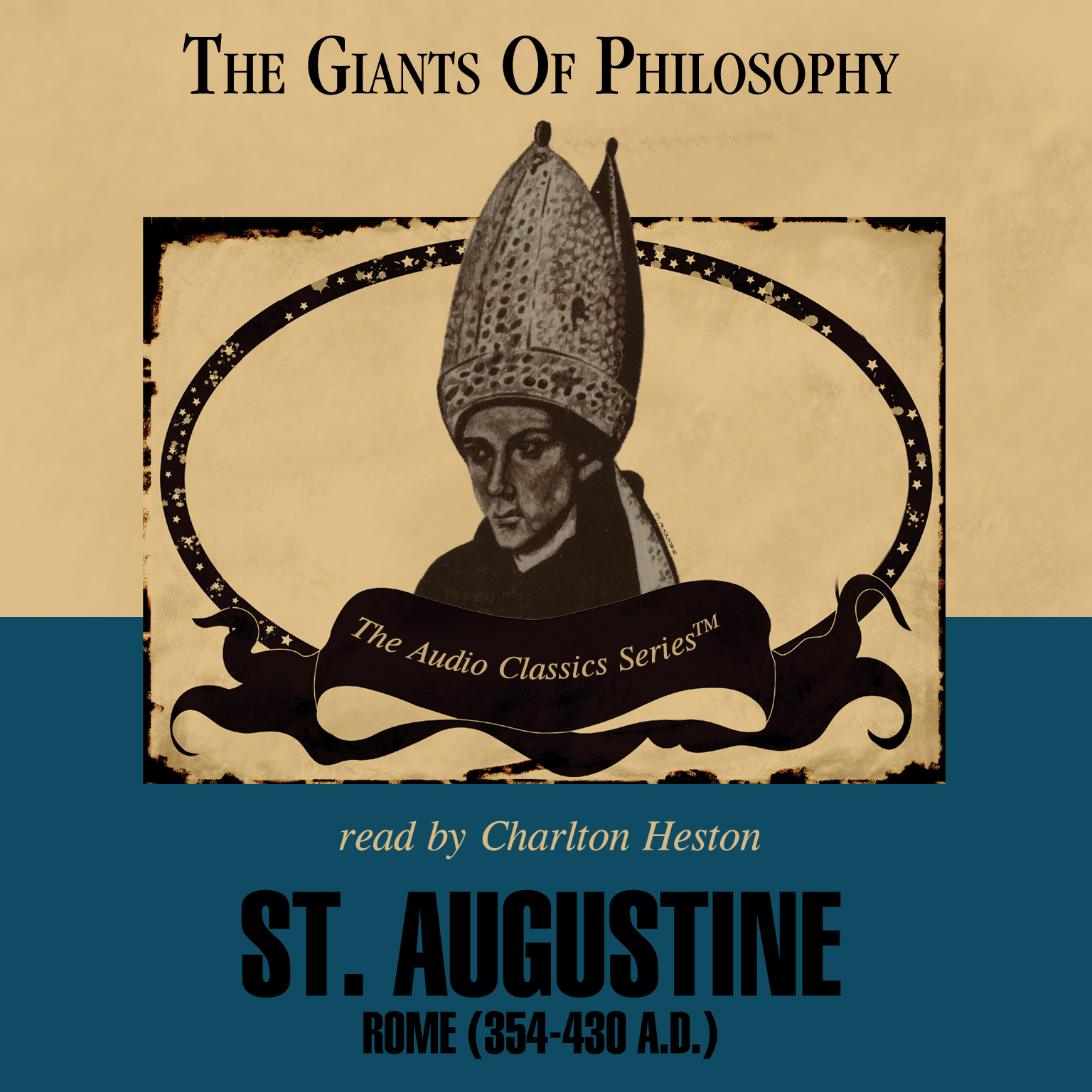 Printable St. Augustine: Rome (354–430 AD) Audiobook Cover Art