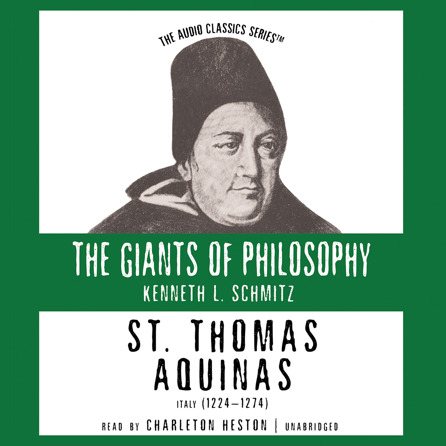 Printable St. Thomas Aquinas Audiobook Cover Art