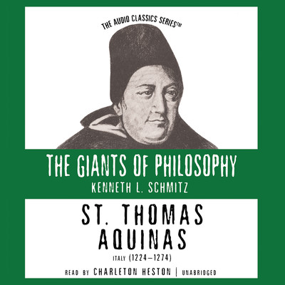 St. Thomas Aquinas Audiobook, by Kenneth L. Schmitz
