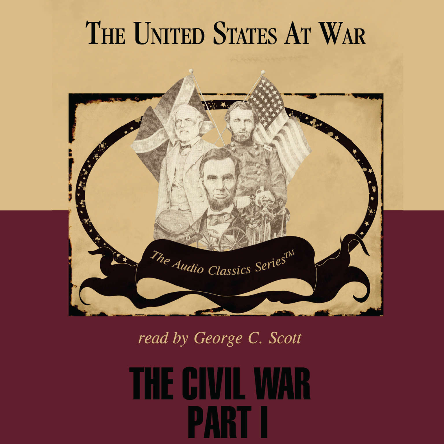 Printable The Civil War, Part 1 Audiobook Cover Art