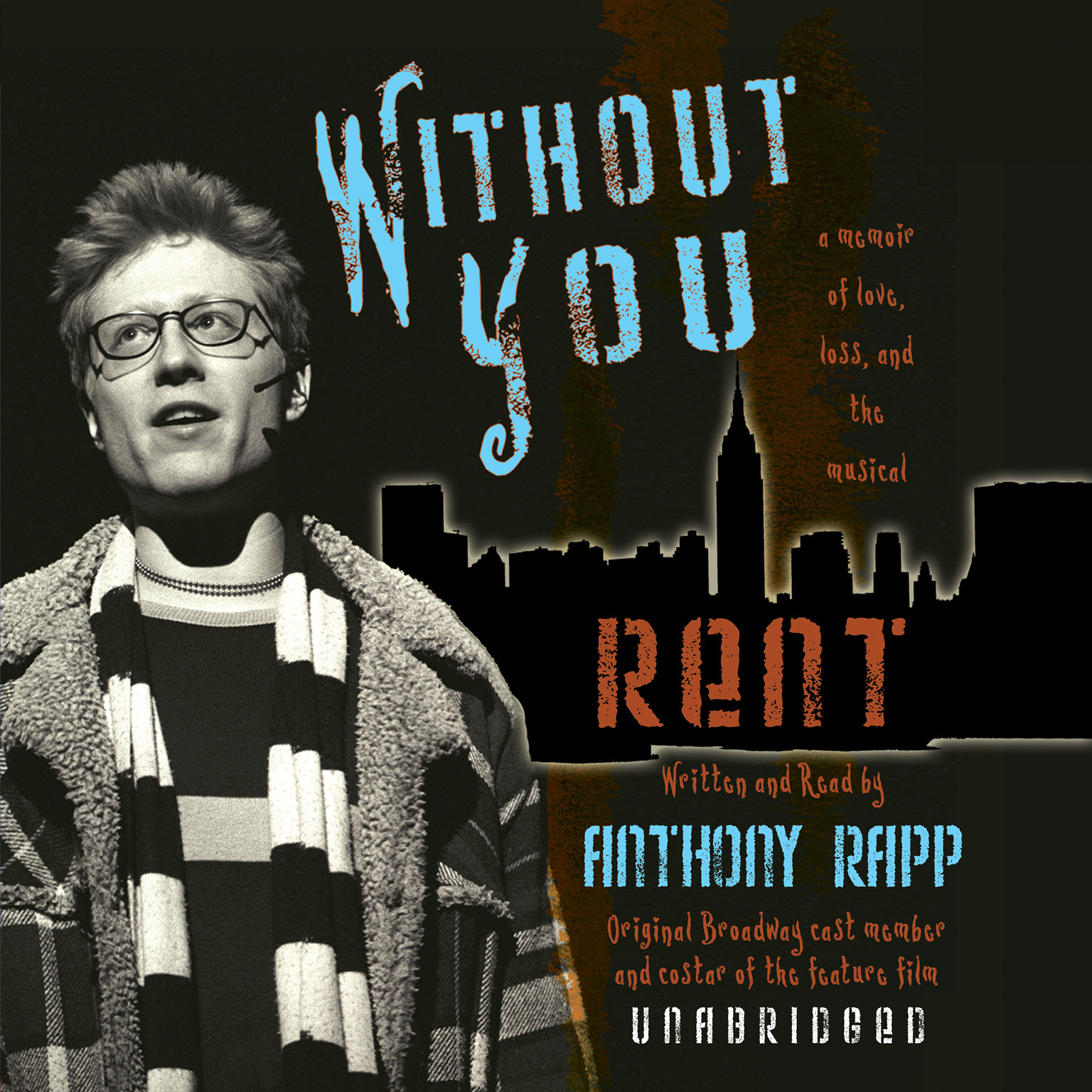 Printable Without You: A Memoir of Love, Loss, and the Musical Rent Audiobook Cover Art