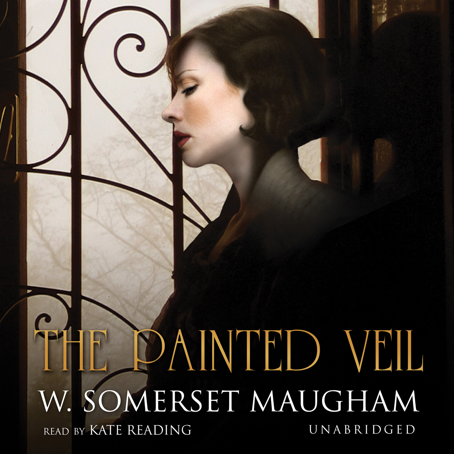 Printable The Painted Veil Audiobook Cover Art