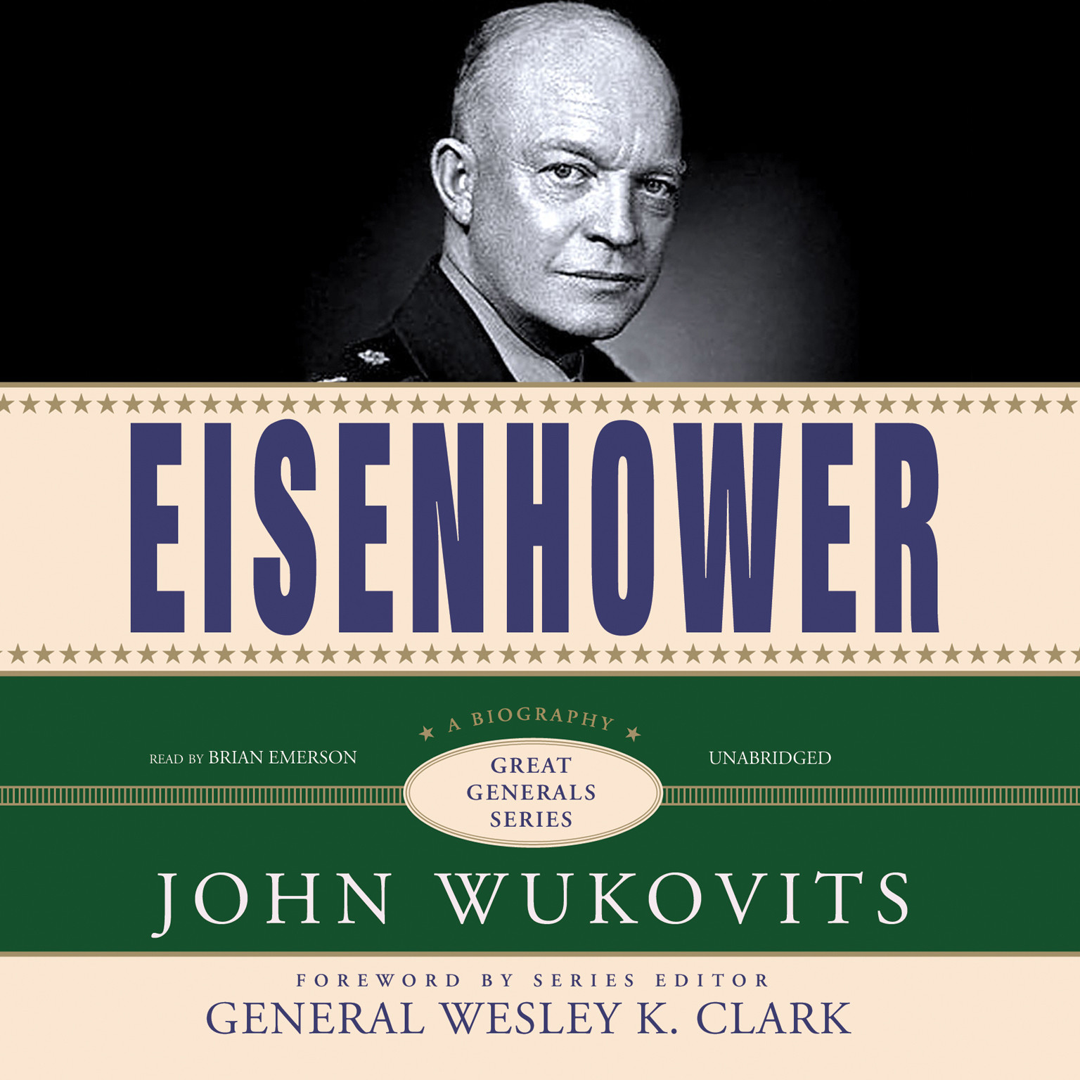 Printable Eisenhower Audiobook Cover Art