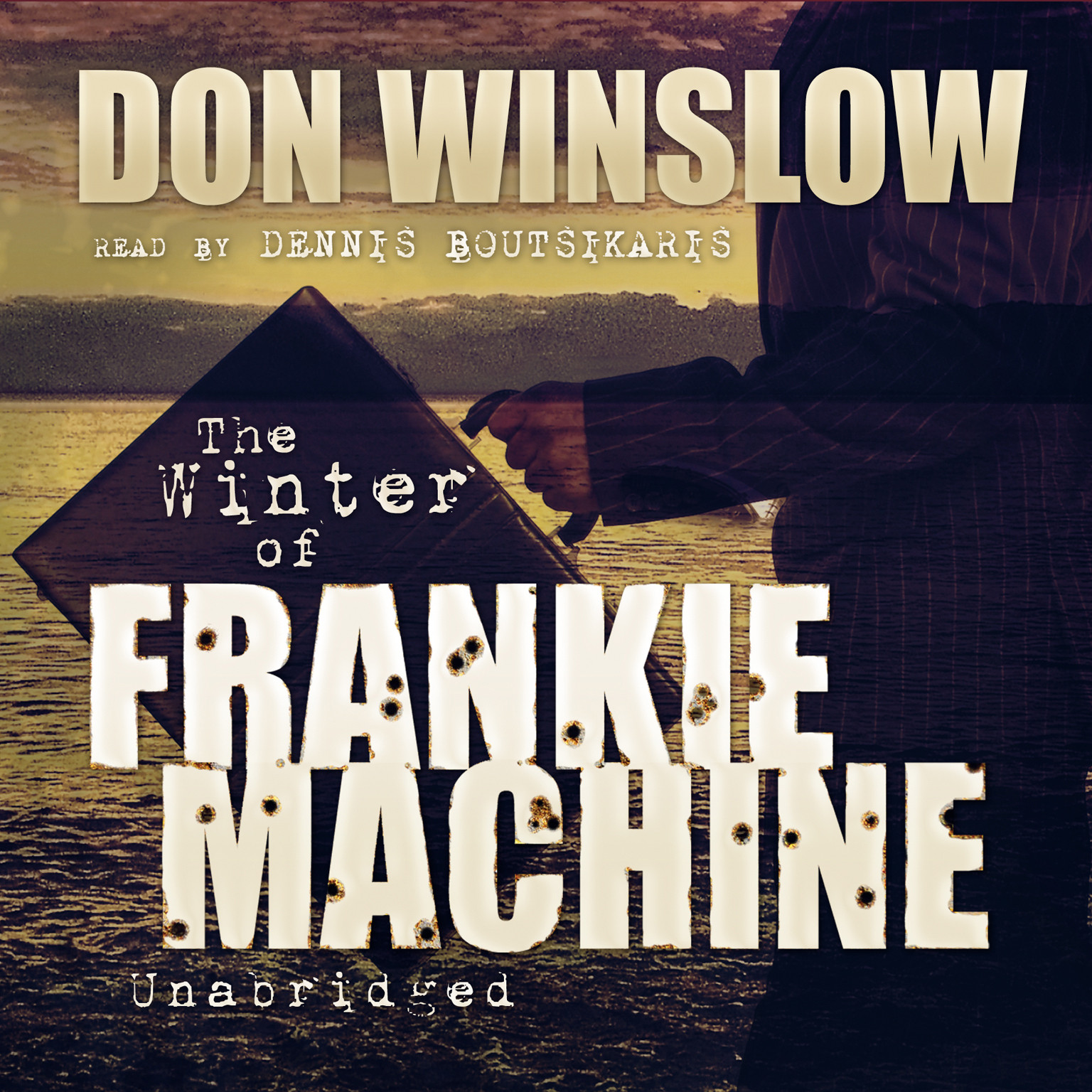 Printable The Winter of Frankie Machine Audiobook Cover Art