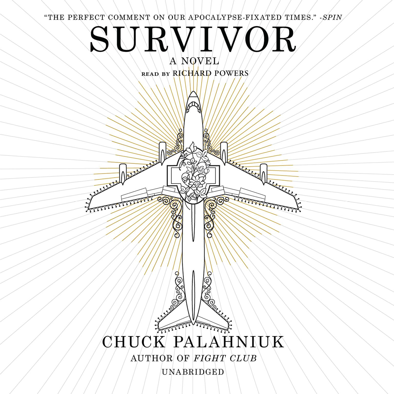 Printable Survivor Audiobook Cover Art