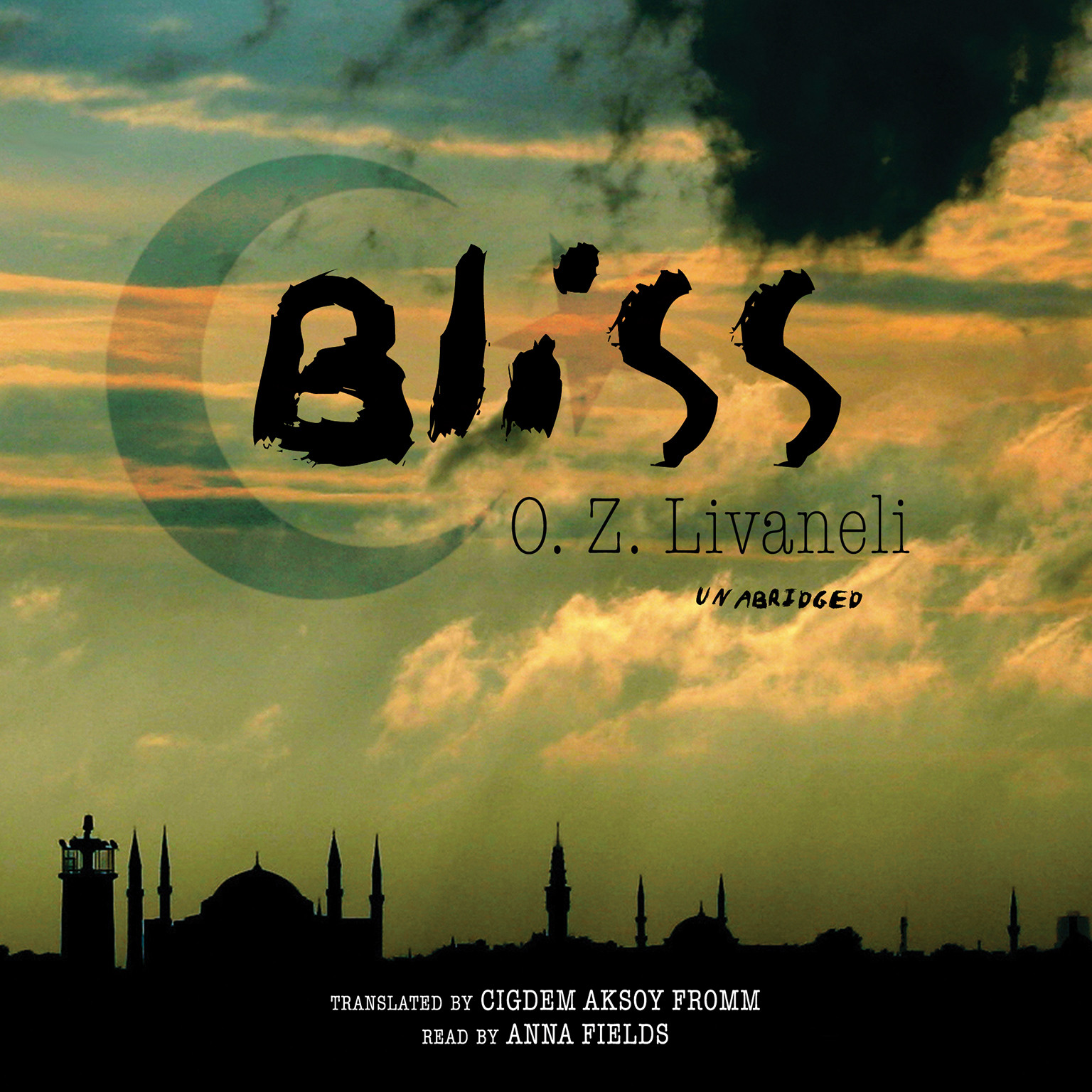 Printable Bliss Audiobook Cover Art
