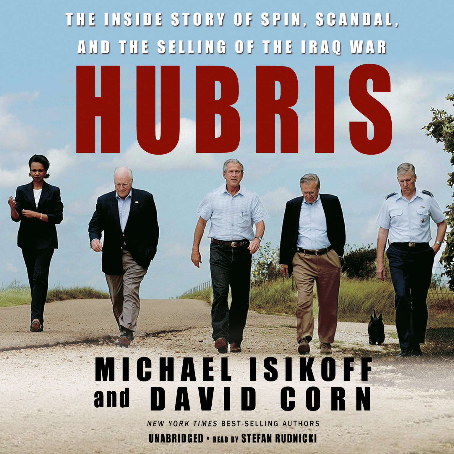 Printable Hubris: The Inside Story of Spin, Scandal, and the Selling of the Iraq War Audiobook Cover Art